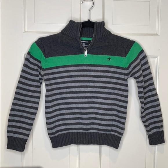 Calvin Klein Boys Half Zip Sweater